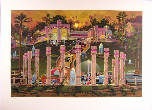 Original Serigraph by Michael Young, Limited Edition Signed and No'd.